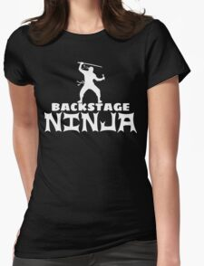 Backstage Ninja Womens Fitted T-Shirt