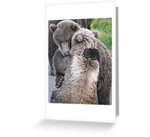 Sometimes we all just need a little Bear Hug Greeting Card