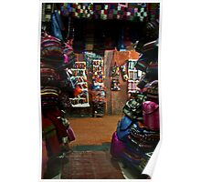 Bag Shop in the Souk Poster
