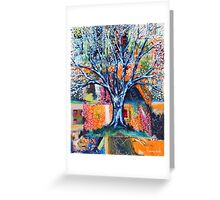 ‎''HERALD TO SPRING (BRADFORD PEAR TREE)'  Greeting Card