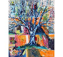 ‎''HERALD TO SPRING (BRADFORD PEAR TREE)'  Photographic Print
