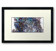 Panoracave - Abstract Fractal Framed Print