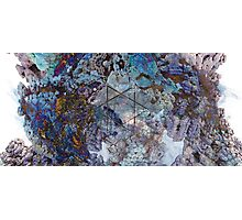 Panoracave - Abstract Fractal Photographic Print
