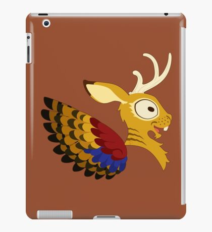 Silly beasty: Wolpertinger iPad Case/Skin