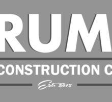 TRUMP Wall Construction Sticker