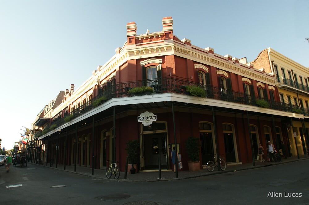 Muriel's Bistro, New Orleans, La by Allen Lucas