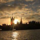bridge sunset by eddiebotha