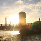 bridge sunset 2 by eddiebotha