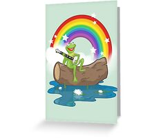 The Rainbow Connection Greeting Card