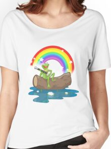 The Rainbow Connection Women's Relaxed Fit T-Shirt