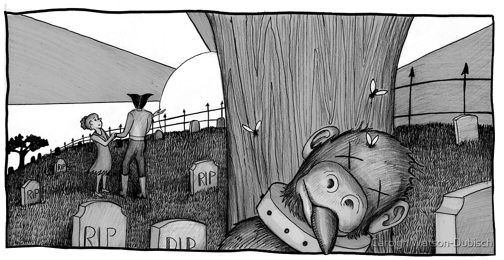 """Dead Monkey from """"The Horribles"""" by Carolyn Watson-Dubisch"""
