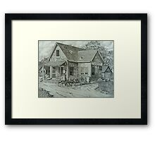 C&D Grocery Framed Print