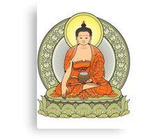 buddha color Canvas Print