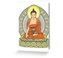 buddha color Greeting Card