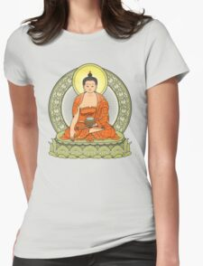 buddha color Womens Fitted T-Shirt