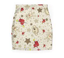 Voodoo Monkey Confetti Mini Skirt