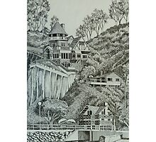 Holly Hill House in Avalon Photographic Print