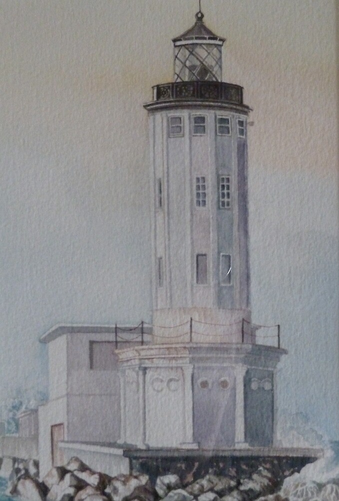 L.A. Harbor Light by Sally Sargent