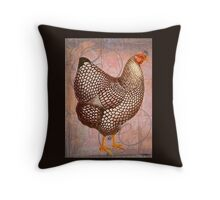 Rooster Chicken Farm Bird Throw Pillow