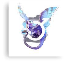 Demiboy Pride Dragon Canvas Print