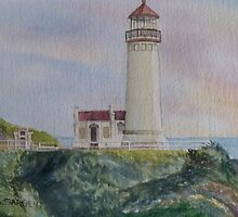 North Head Lighthouse by Sally Sargent