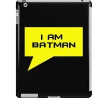 I AM BATMAN iPad Case/Skin
