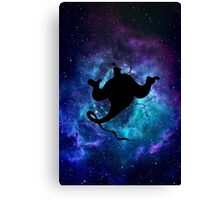 Aladdin Genie Galaxy Canvas Print