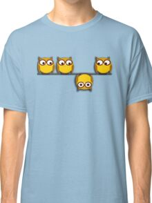 A whole new perspective for the owl Classic T-Shirt