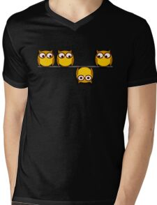 A whole new perspective for the owl Mens V-Neck T-Shirt