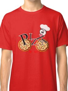 Funny Pizza To Go Man Classic T-Shirt