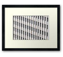 Skyscraper Facade Framed Print