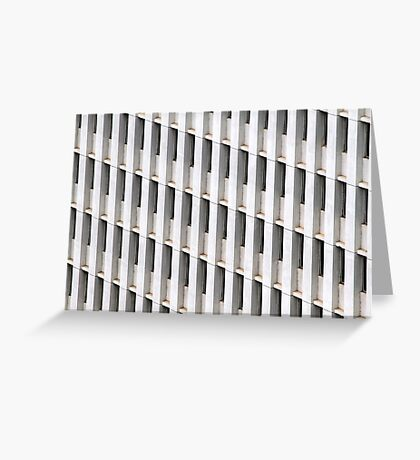 Skyscraper Facade Greeting Card