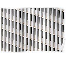 Skyscraper Facade Poster