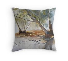 TRANQUIL MIST Throw Pillow