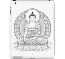 buddha outline iPad Case/Skin