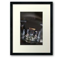 Electronic Roach Framed Print