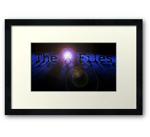 The X Files- In Space Framed Print
