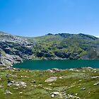 Blue Lake in Kosciuszko National Park by Ian Fegent
