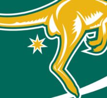 Rugby Wallabies Kangaroo Australia Sticker