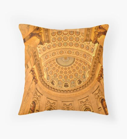 { inside the st paul cathedral } Throw Pillow