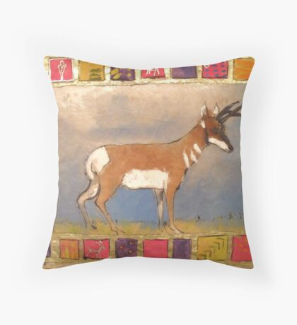 Desert King Throw Pillow