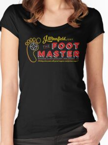 The Foot Master Women's Fitted Scoop T-Shirt