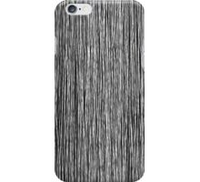 Modern Trendy Black and White Hand Drawn Line Art iPhone Case/Skin