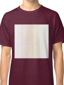 Modern Trendy Colorful Hand Drawn Line Art Classic T-Shirt
