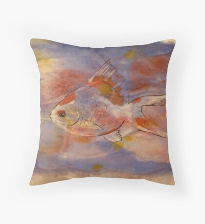 Ryukin Throw Pillow