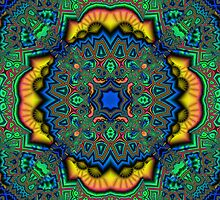 Arabian Carpet Fractal by WildcatFractals