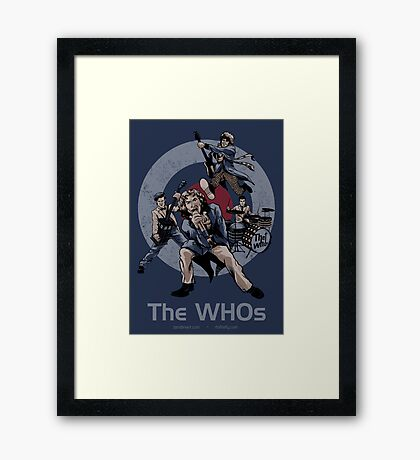 The WHOs Framed Print