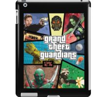 Grand Theft Guardians | Guardians of the Galaxy iPad Case/Skin