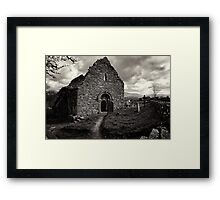 Ullard Church, near Graiguenamanagh, County Kilkenny, Ireland Framed Print