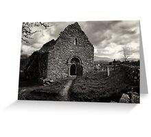 Ullard Church, near Graiguenamanagh, County Kilkenny, Ireland Greeting Card